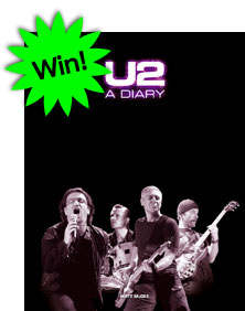Win a copy of U2-A Diary